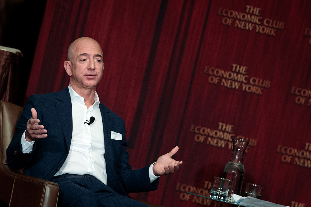 Jeff Bezos becomes second richest in the world surpassing Warren Buffett, Amancio Ortega