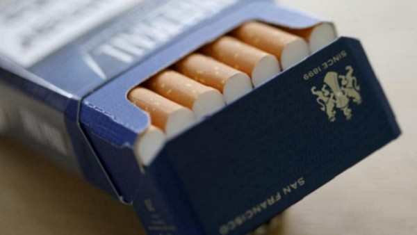 Pall Mall cigarettes are seen after the manufacturing process in the British American Tobacco Cigarette Factory (BAT)
