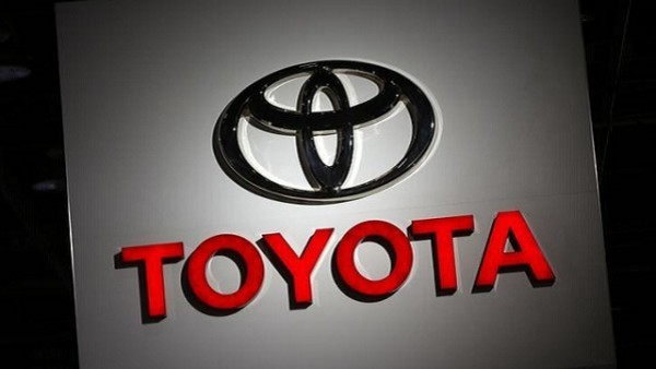 The Toyota logo is seen at the company's display during the North American International Auto Show in Detroit, Michigan, U.S., January 10, 2017.