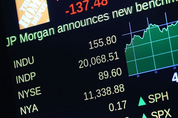 Dow Jones Industrials Average Crosses 20,000 Mark For The First Time