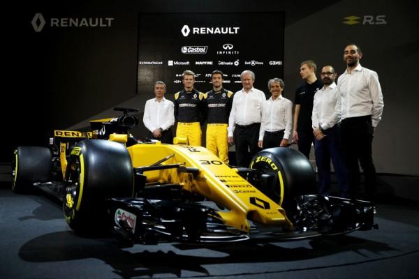 Renault Sport Formula One Team Launch 2017 Car