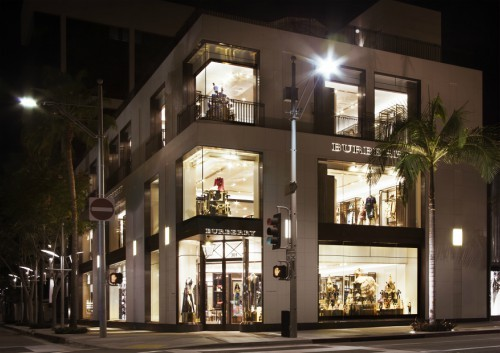 Burberry Beverly Hills flagship store